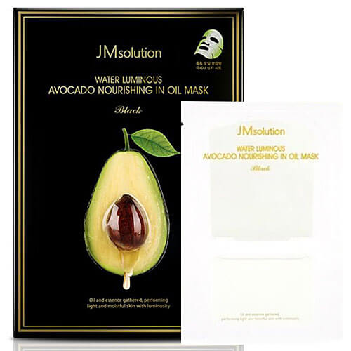 "Тканевая маска с маслом авокадо двухэтапная Water Luminous Avocado Nourishing Oil Mask ""JMsolution"""