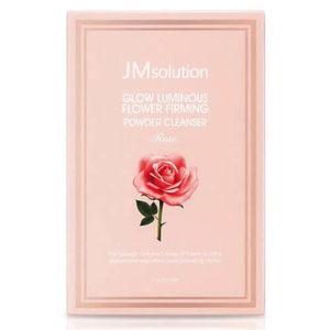"""Тканевая маска с экстрактом дамасской розы Glow Luminous Flower Firming Mask """"JMsolution"""""""