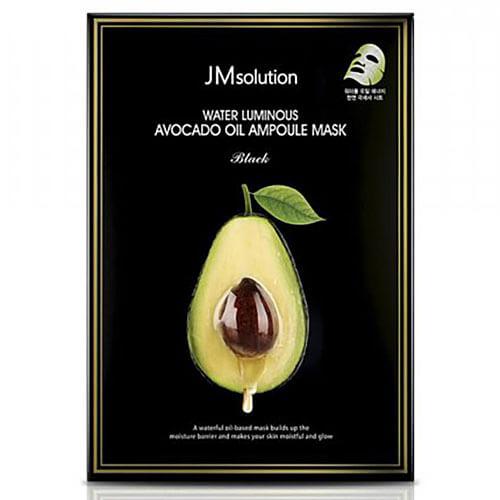 """Тканевая маска ультратонкая с авокадо Water Luminous Avocado Oil Ampoule Mask """"JMsolution"""""""