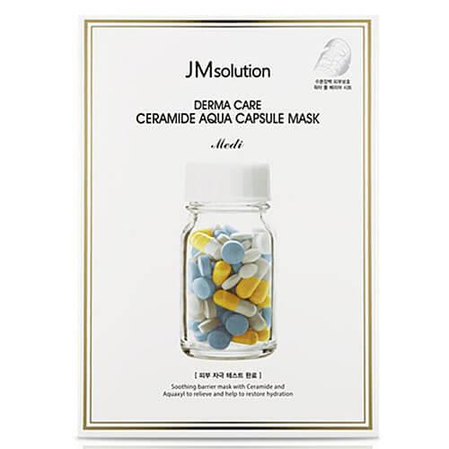 """Маска восстанавливающая с керамидами Derma Care Ceramide Aqua Capsule Mask """"JMsolution"""""""