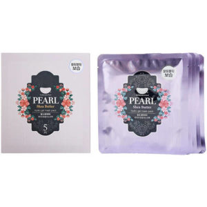 "Гидрогелевая маска с маслом ши и жемчужной пудрой Pearl & Shea Butter Hydrogel Mask Pack ""Koelf"""