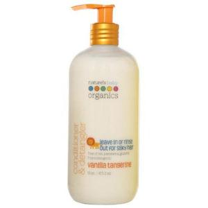 """Кондиционер для расчесывания волос ваниль и мандарин """"Nature's Baby Organics"""""""