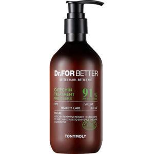 """Кондиционер для волос с катехинами Dr. For Better Catechin Treatment """"Tony Moly"""""""