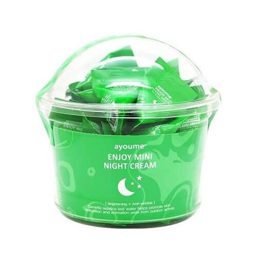 Ночной увлажняющий крем для лица для сухой и чувствительной кожи