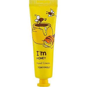 """Крем для рук с экстрактом меда увлажняющий и питающий I'm Honey Hand Cream """"Tony Moly"""""""