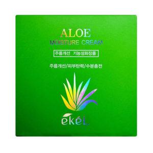 """Увлажняющий крем для лица с экстрактом алое Aloe Moisture Cream """"Ekél"""""""