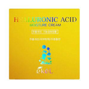 """Увлажняющий крем для лица с гиалуроновой кислотой Hyaluronic Acid Moisture Cream """"Ekél"""""""