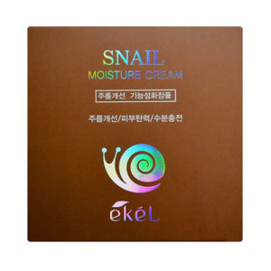 """Увлажняющий крем для лица с муцином улитки Snail Moisture Cream """"Ekél"""""""