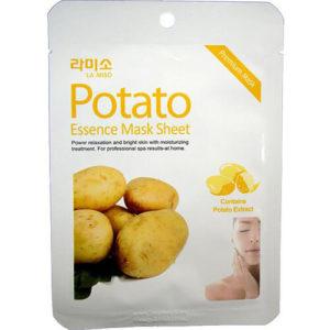"""Тканевая маска для лица успокаивающая с экстрактом картофеля Potato Essence Mask Sheet """"La Miso"""""""