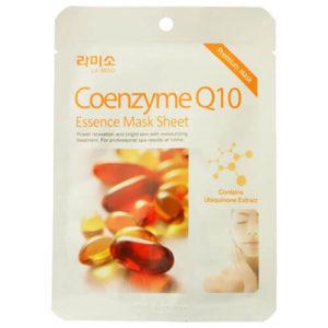 """Тканевая маска для лица увлажняющая с экстрактом коэнзима Q10 Coenzyme Essence Mask Sheet """"La Miso"""""""
