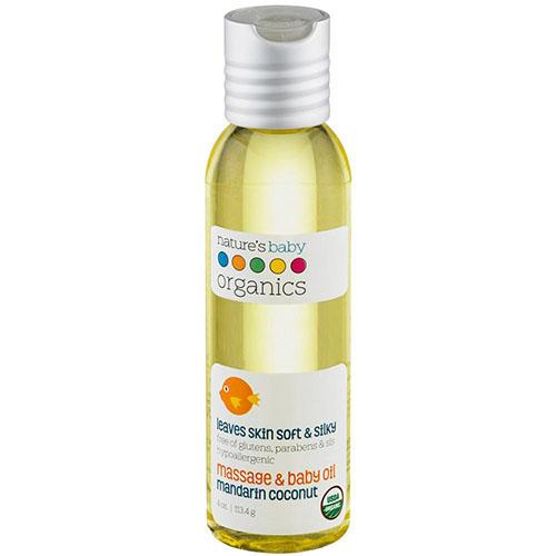 """Массажное масло для детей """"Nature's Baby Organics"""""""
