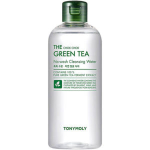 """Мицеллярная очищающая вода с экстрактом листьев зеленого чая The Chok Chok Green Tea Cleansing Water """"Tony Moly"""""""