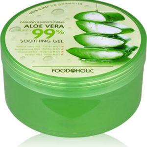"""Многофункциональный гель с алоэ вера 99% Calming and Moisturizing Aloe Vera Soothing Gel """"FoodaHolic"""""""