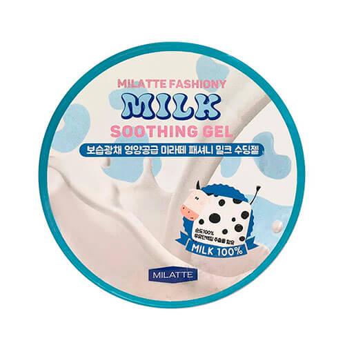 """Многофункциональный гель для лица и тела с молоком Fashiony Milk Soothing Gel """"Milatte"""""""