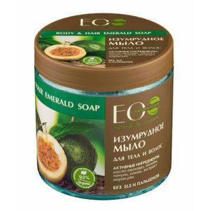 """Изумрудное мыло для тела и волос """"Eco Laboratorie"""""""