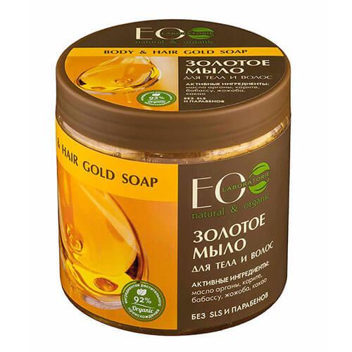 """Золотое мыло для тела и волос """"Eco Laboratorie"""""""