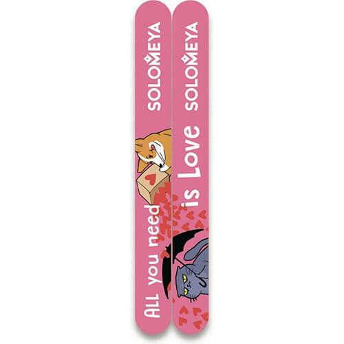 Набор пилок для натуральных и искусственных ногтей All You Need Is Love