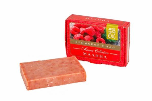 """Натуральное мыло Малина """"Флора Natural Cosmetics"""""""