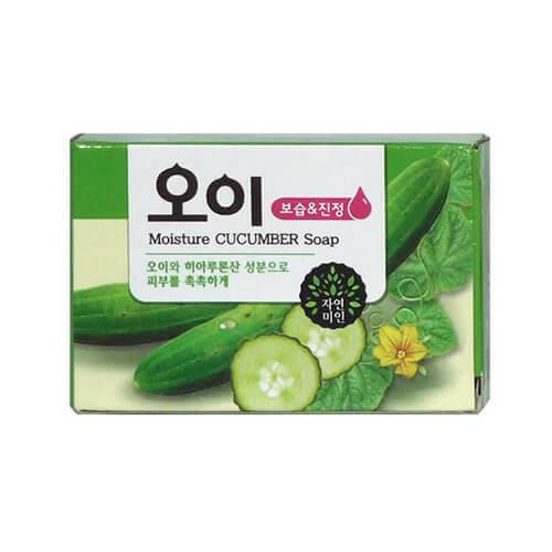 "Огуречное мыло Moisture Cucumber Soap ""Mukunghwa"""