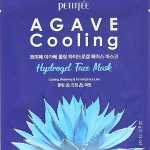 """Охлаждающая гидрогелевая маска для лица с экстрактом агавы Agave Cooling Hydrogel Face Mask """"Petitfée"""""""