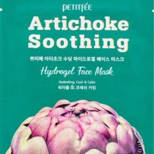 """Освежающая гидрогелевая маска для лица с экстрактом с артишока Artichoke Soothing Hydrogel Face Mask """"Petitfée"""""""