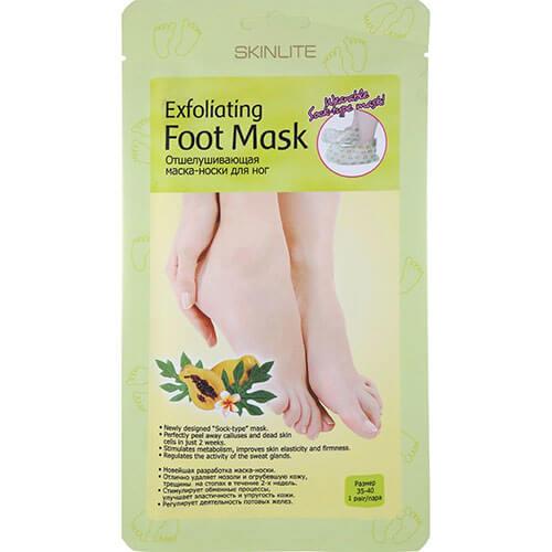 "Отшелушивающая маска-носки для ног 35-40 ""Skinlite"""