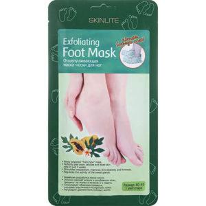 "Отшелушивающая маска-носки для ног размер 40-45 ""Skinlite"""
