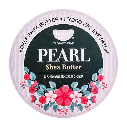 """Гидрогелевые патчи для области вокруг глаз с маслом ши и жемчужной пудрой Pearl Shea Butter Hydro-Gel Eye Patch """"Koelf Cosmetic"""""""