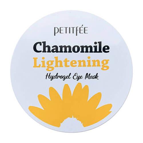 """Гидрогелевые патчи для области вокруг глаз с экстрактом ромашки осветляющие Chamomile Lightening Hydrogel Eye Mask """"Petitfée"""""""
