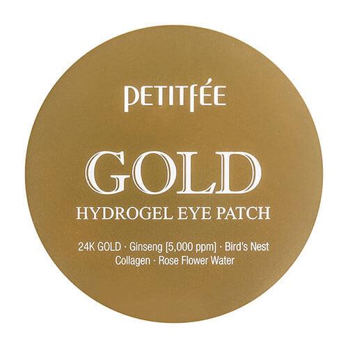 """Гидрогелевые патчи для области вокруг глаз с коллоидным золотом Gold Hydrogel Eye Patch """"Petitfée"""""""