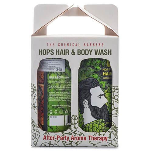 "Набор для ухода за волосами и телом для мужчин Утро и Вечер Hips & Hops ""The Chemical Barbers"""