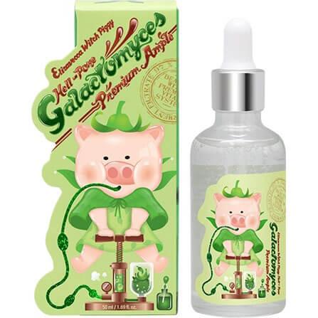 """Сыворотка для лица премиум на основе фермента галактомисис Witch Piggy Hell-Pore Galactomyces Premium Ample """"Elizavecca"""""""