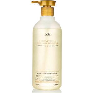 """Бессульфатный шампунь против выпадения волос с салициловой кислотой и ментолом Dermatical hair loss shampoo """"La'dor"""""""