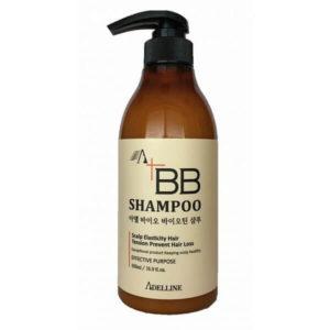 """Шампунь против выпадения волос Укрепляющий Adel Bio Biotin Shampoo BB Shampoo """"Adelline"""""""