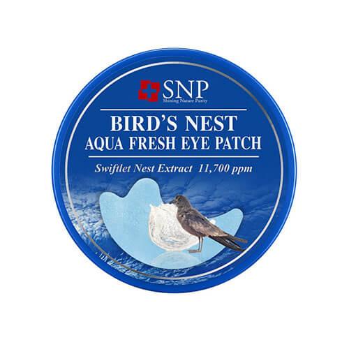 """Гидрогелевые патчи для области вокруг глаз и носогубки с экстрактом ласточкиного гнезда Birds Nest Aqua Eye Patch """"SNP"""""""