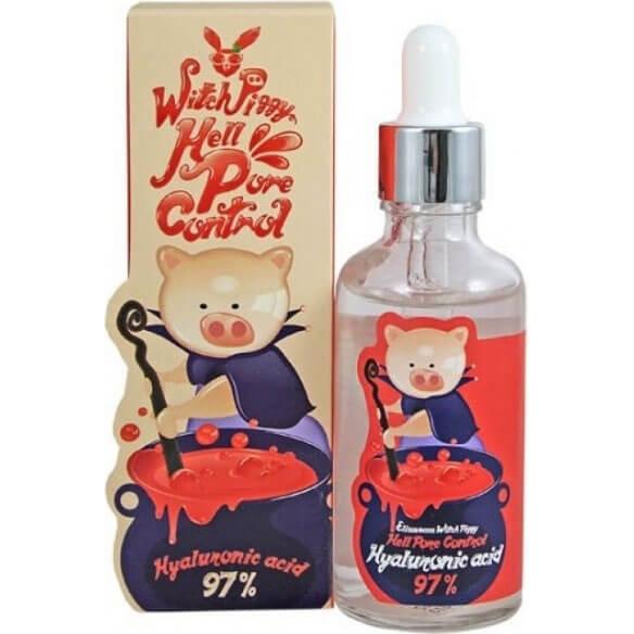 """Сыворотка для лица с гиалуроновой кислотой Witch-Piggy Hell-Pore Control Hyaluronic Acid 97% Serum """"Elizavecca"""""""