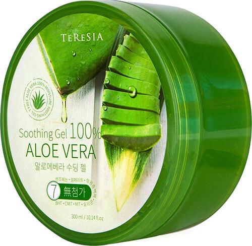 """Универсальный увлажняющий гель для ухода за кожей и волосами с алоэ вера Aloe Vera Soothing Gel """"Teresia"""""""