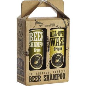 "Подарочный набор для мужчин Beer Shampoo Gift Set Mixed ""The Chemical Barbers"""