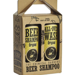 "Подарочный набор для мужчин Beer Shampoo Gift Set Original ""The Chemical Barbers"""