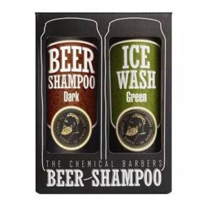 "Подарочный набор для мужчин Beer Shampoo Gist Set Argan ""The Chemical Barbers"""
