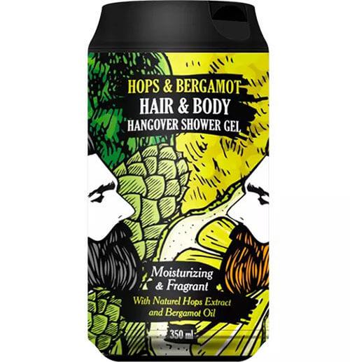 """Очищающий гель для тела и волос хмель и бергамот Hangover Hops & Bergamot """"The Chemical Barbers"""""""