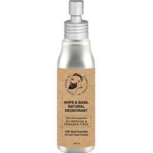 """Органический дезодорант с эфирными маслами базилика, можжевельника и чайного дерева Hops & Basil Natural Deodorant """"The Chemical Barbers"""""""