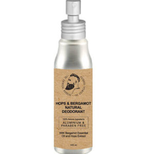 "Органический дезодорант с эфирными маслами бергамота, кедра и лаванды Hops & Bergamot Natural Deodorant ""The Chemical Barbers"""