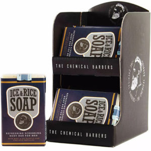 "Натуральное мыло для тела с маслами и хмелем Ice & Rice Soap ""The Chemical Barbers"""