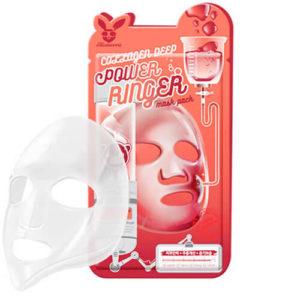 """Тканевая маска для лица с коллагеном омолаживающая """"Elizavecca"""""""
