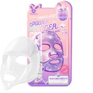"""Тканевая маска для лица с фруктовыми экстрактами тонизирующая """"Elizavecca"""""""