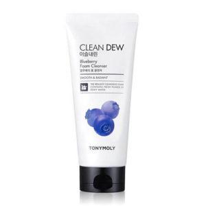"""Пенка для умывания с экстрактом голубики Clean Dew Blueberry Foam Cleanser """"Tony Moly"""""""