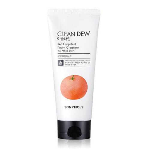 """Пенка для умывания с экстрактом красного грейпфрута Clean Dew Red Grapefruit Foam Cleanser """"Tony Moly"""""""