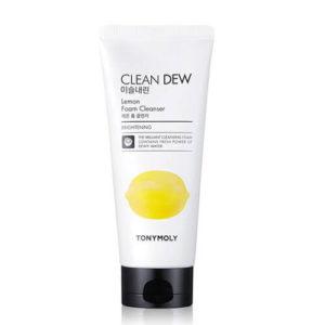 """Пенка для умывания с экстрактом лимона Clean Dew Lemon Foam Cleanser """"Tony Moly"""""""