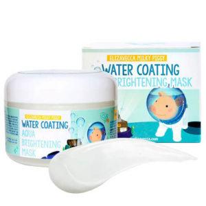 """Увлажняющая ночная маска с эффектом сияния кожи лица Water Coating Aqua Brightening Mask """"Elizavecca"""""""